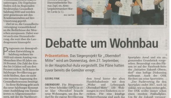 Flachgauer Nachrichten 20.09.2012
