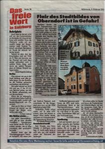 Leserbrief Kronenzeitung 05.02.2014